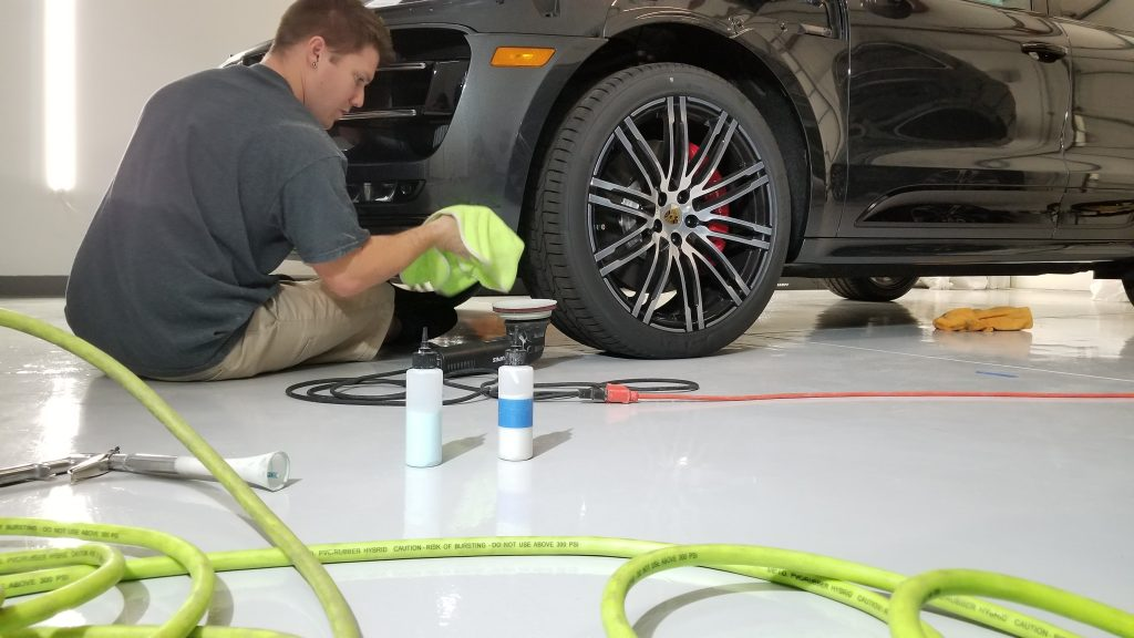 Paint Correction on a Porsche Macan