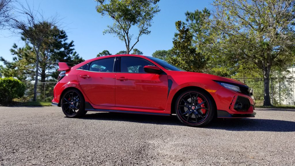 Honda Civic Type R New Car Preservation after CQuartz Finest Reserve