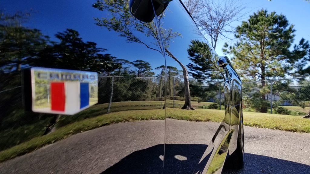 Mirror Finish on a 2017 Camaro 2 SS