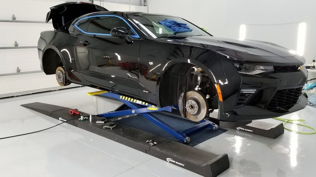 Wheels off service on a 2 SS