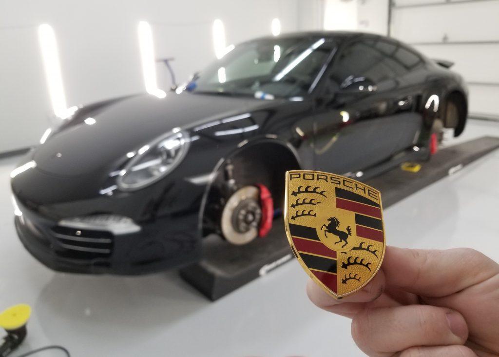 Debadged Porsche