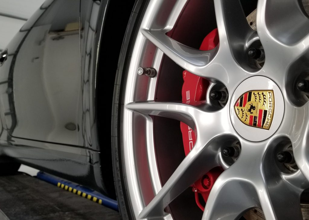 Cquartz Coated Porsche Wheels