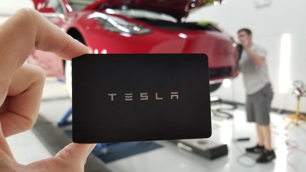 Tesla Model 3 Key Card