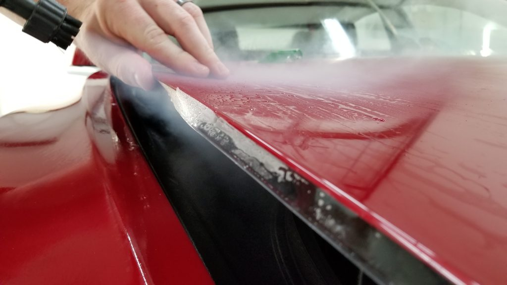 Wrapping PPF edges on a Model 3