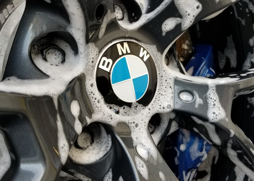 soapy bmw wheels