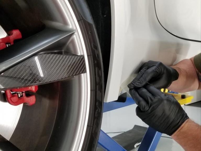 removing factory film splash guards